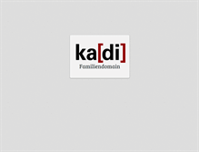 Tablet Preview of kadi.info